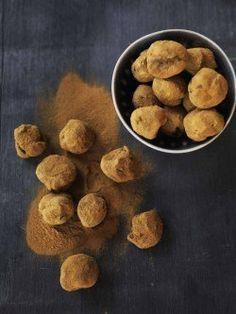 licorice truffles with chocolate