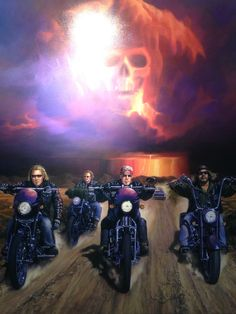Sons of Anarchy art, Sturgis USA 2014