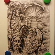 ... heavens#gate#art#flash#tattoo# ... Gates Of Heaven Tattoo Drawings