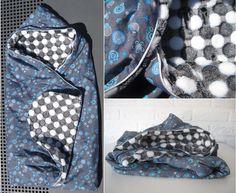 Wikkeldoek voor de autostoel / maxi-cosi / car seat blanket #wikkeldoek #baby #autostoel #carseat #maxicosi #blanket #handmade #diy