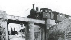 The Old Maltese railway system in action. It operated from 1883 till 1931 and consisted of a single railway from Valletta to Mdina & Rabat.