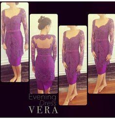 Vera Kebaya (19) - Ungu Tua
