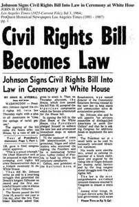 headlines of 1964