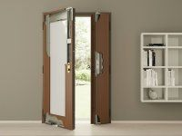 Security doors - functionality, aesthetics and safety Bathroom Medicine Cabinet, Foyer, Tall Cabinet Storage, Divider, Furniture, Home Decor, Security Doors, Steel Doors, Interior Doors