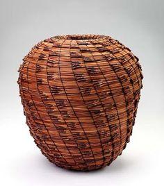 Contemporary Basketry: Materials/Pine Needles