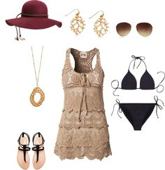 """""""Palm Springs Magazine Pool Party outfit"""" by jessim623 on Polyvore"""