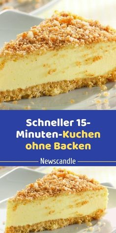 Faster cake without baking - Ingredients: for the cake base: 300 g butter cookies, 200 ml milk, for the cream: l milk, 10 ta - Easy Cheesecake Recipes, Easy Cookie Recipes, Banana Bread Recipes, Cupcake Recipes, Cookies And Cream Cake, Cake Mix Cookies, Cheesecake Cookies, Cupcakes, Chocolate Cookie Recipes