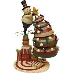 Snowman - Best Time Snowman Tree - Christmas Winter Seasonal Decor, Star, Presents $23.49