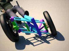 This is a rough animation of a concept tilting trike design. The tilt and the steering is managed independently via levers, and are done using hydraulic actu...