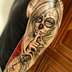 "328 Likes, 4 Comments - World Tattoo Gallery (@worldtattoogallery) on Instagram: ""@worldtattoogallery #muerte #tattoo #art #artwork #tattooed #tattooink #tats #dnestetujem #tetovani…"""