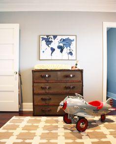 wall color Valspar grey plank