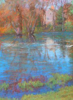 Fresh Breezes (pastel, 20×16) by pastel artist Rosalie Nadeau