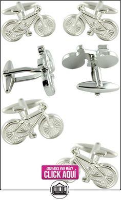 MasGemelos - Gemelos Bicicleta 3D Cufflinks  ✿ Joyas para niños - Regalos ✿ ▬► Ver oferta: https://comprar.io/goto/B01FPXKOYS