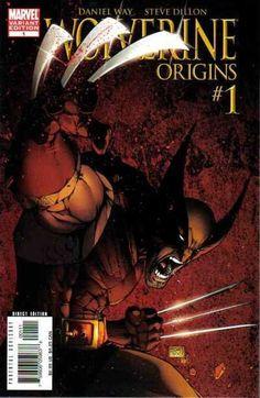 Marvel Wolverine Origins #1 (Variant Cover)