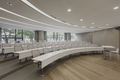 #tbt Hyundai Card corporate offices lecture room feat. the M60 Swing Away #sediasystems x Liberty #humanscale chair