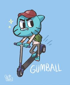 hope you can recognize the characters sitting on the chairs! The Amazing World of Gumball fan art Crumpled Paper, World Of Gumball, Darwin, Pictures To Draw, Cartoon Network, Paper Texture, Smurfs, Things To Come, Animation
