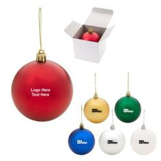 3 Inch Custom Printed Round Shatter-Proof Ornaments on a price of $1.39 #shatterproof #promotionalproduct #xmasdecor