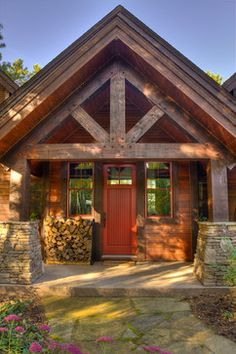 272 Best Cabin Front Porch Images Front Porch Front Stoop Log Home