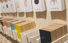 Aldworth James & Bond | Hem Pop-Up Shop - postcards and sample display board Estilo Interior, Retail Interior, Window Display Retail, Window Displays, London Design Festival, Retail Store Design, Retail Stores, Store Displays, Retail Displays