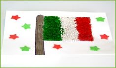 Cinco de Mayo Mexican Rice Flag Craft for Kids! Here's