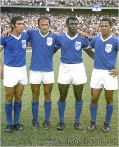 Millonarios-futbol.red Futbol Red, Football Players, America, Columbia, Legends, Retro, Style, Amor, Football Team