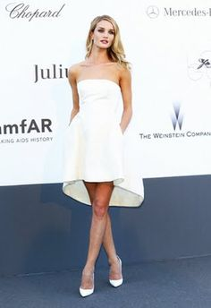 Rosie Huntington-Whiteley attends amfAR s 20th Annual Cinema Against AIDS  during The 66th Annual Cannes 13ea3d61126f