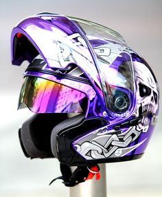 803 Masei chrome helmet