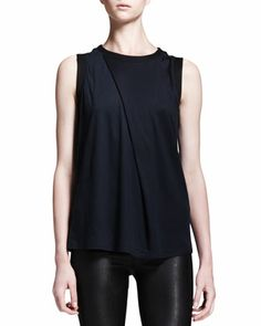 Helmut Lang | Emission Asymmetric Pleat Top - CUSP