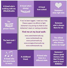Use this awesome tagging image to recruit team members! Don't forget to mention your team name and which local Walk website they should visit to find your team!