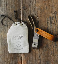 Snake Hook Key Clip & Churchkey Keychain | A winsome pair for wrangling keys, this handy set includes a b... | Bottle Openers