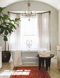 Jessica Buckley Interiors » Bay window bathtub