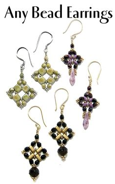 Any Bead Earrings | Bead-Patterns