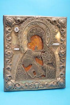 Icona raffigurante la Vergine  col Bambino