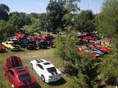Some of the Camaros that attended the charity Camaro car show July 20th at the Volo Auto Museum, Volo, IL.   www.volocars.com