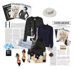 """""""What would Coco do?"""" by miabenedicte ❤ liked on Polyvore featuring Assouline Publishing, Chanel and Emanuel Ungaro"""
