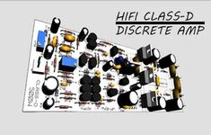HiFi Class-D Discrete Power Amplifier, Power amplifier class-d super HiFi can be supplied up to DC CT. and for circuit schematics also PCB Layout design I can see here. Crown Amplifier, Diy Amplifier, Class D Amplifier, Svs Subwoofer, Circuit Diagram, Making 10, Electronic Circuit, Layout Design, Technology
