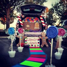 trunk or treat candyland more