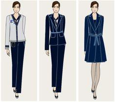 Trip Linhas Aéreas renova uniformes  Via: www.usefashion.com