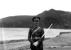 Rincón del Medik 1948 Alférez Marimon del Regimiento de Artilleria Nº49
