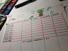#timetable #planlekcji Bullet Journal
