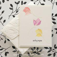 Serene Garden Blooms Sending Prayers - Aromas and Art
