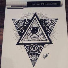 The Providence eye drawing #buenosaires #argentina #sketch #instattoo #pencilsketch #art #artwork #artist #mydrawing #artbyme #graphicdesign #tattooart #creative #arts_gallery #handmade #artworks #ilustrate #blackandwhite #tattoo #eyeofprovidence #fabercastell #instadraw #igers #instasketch #instaart ##worldofartists #worldofpencils