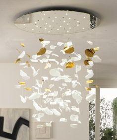 LEAF chandelier. Murano i szklany design marki Reflex - PLN Design