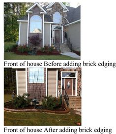 Added brick pavers