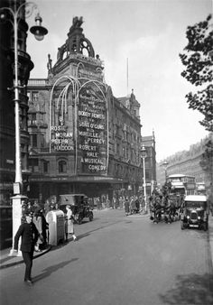 Old Photographs of London from 1920 - 1933 London Hippodrome, Cranbourn Street
