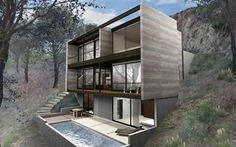 Hollywood Hybrid, casas prefabricadas de M. Radziner