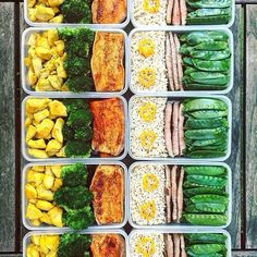 Meal prep to save time, get the food you need.