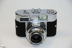 Voigtländer Vitomatic I Skopar 2,8/50mm Metallkamera Kleinbildfilm Sammler