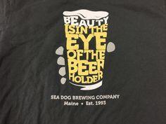 "/""pumpkinhead/"" Beer STICKER Decal Craft Brewery SHIPYARD BREWING CO"