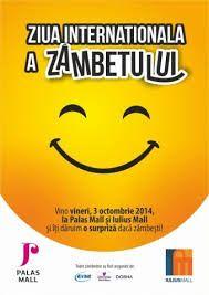 Vineri, Palas Iasi si Iulius Mall sarbatoresc Ziua Internationala a zambetului Optimism, Mall, Template